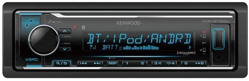 Kenwood KMM-BT322 Car Media Player Best Buy Double Din Car Stereo