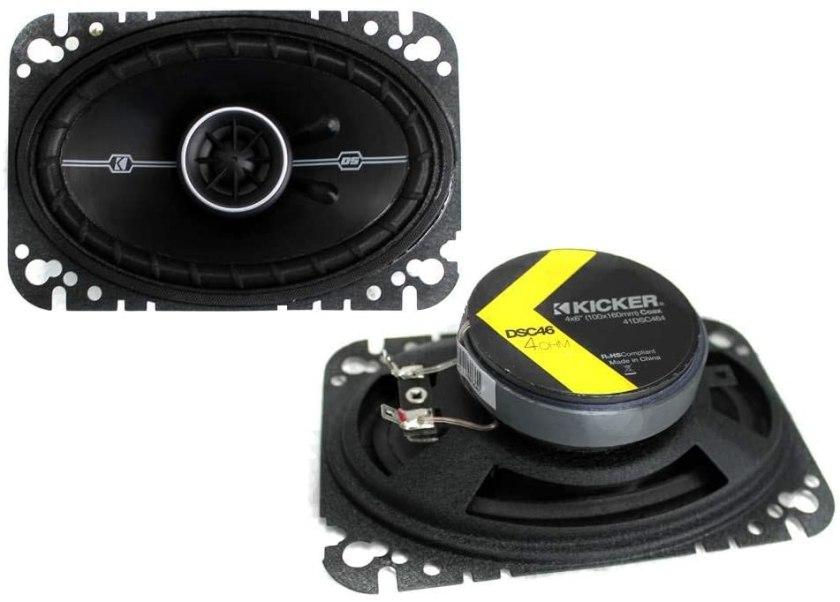 Kicker DSC46 (41DSC46) Car Speakers