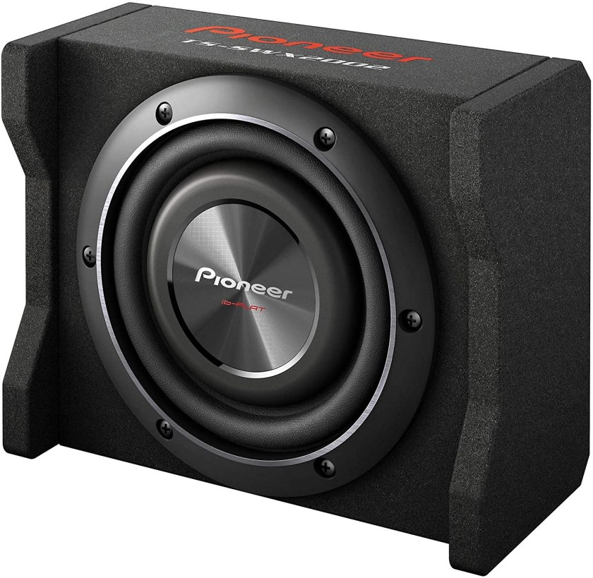 Pioneer TS-SWX2002 Shallow-Mount Pre-Loaded Enclosure Best 8 Inch Shallow Mount Subwoofer