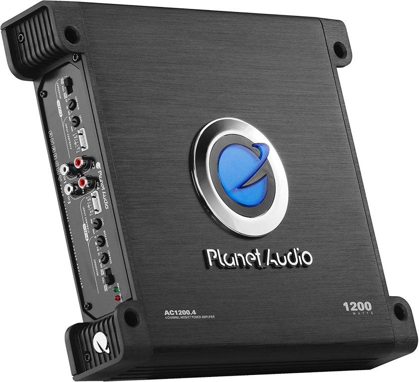 Planet Audio AC1200.4 Amplifier Best 4 Channel Amplifiers Under $200