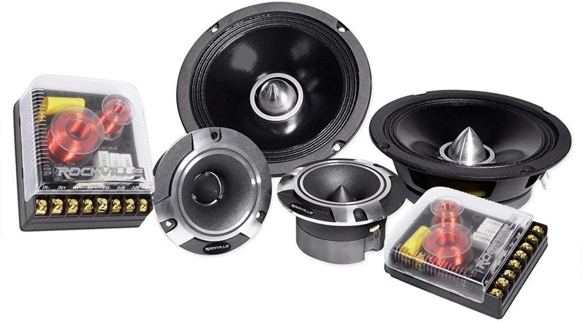 Rockville X6.5C Competition Component Speakers Best 6.5 Component Speakers Under $200