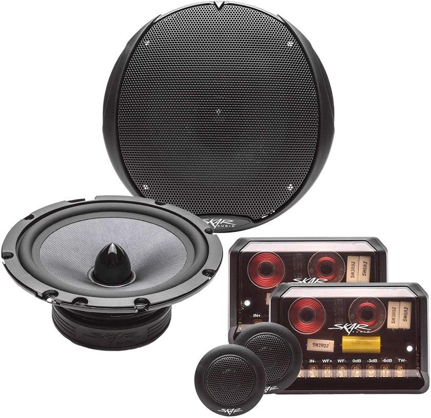 Skar Audio TX65C Component Speaker System Best 6.5 Component Speakers Under $200