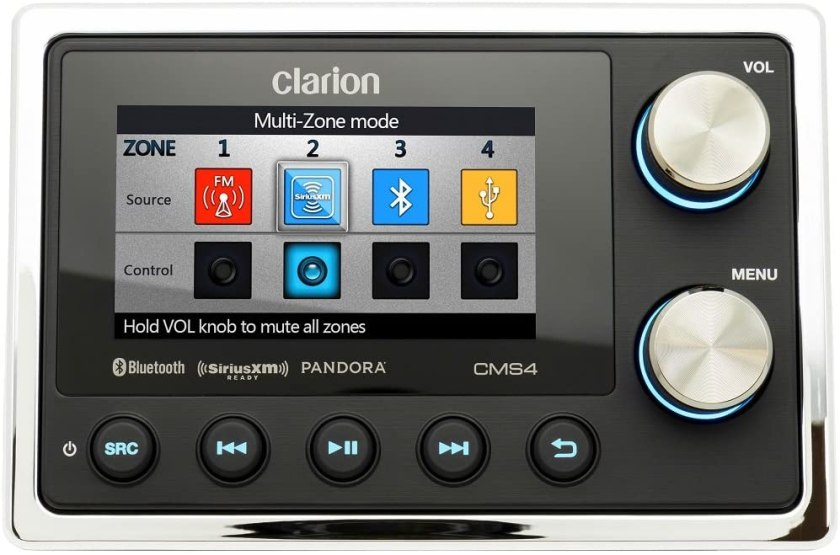 Clarion CMS4 Marine Stereo