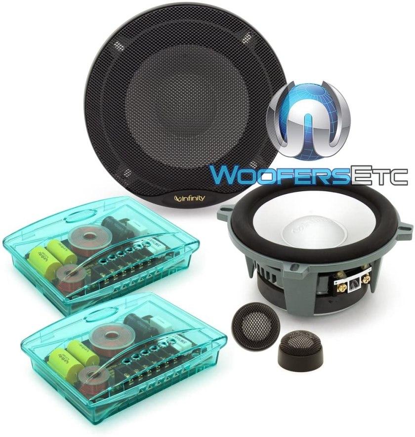 Infinity kappa perfect 5.1 component speaker