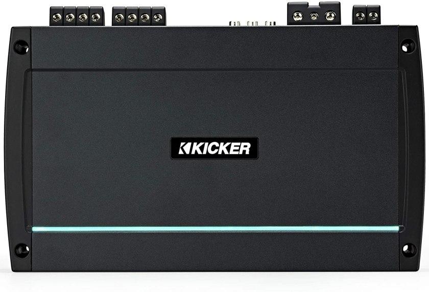 Kicker KXMA800.5 4x100-Watt Four-Channel Full-Range Class D Amplifier Best Marine Amplifier for the Money
