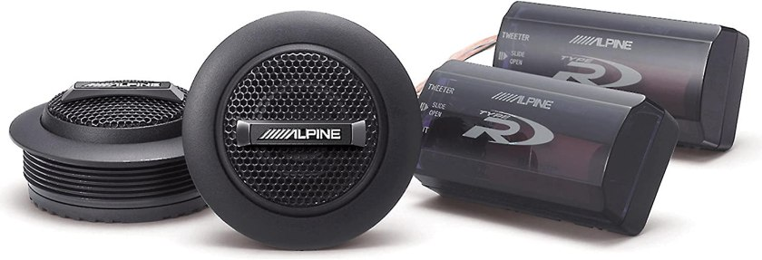 Alpine SPR-10TW Best Car Tweeters for the Money