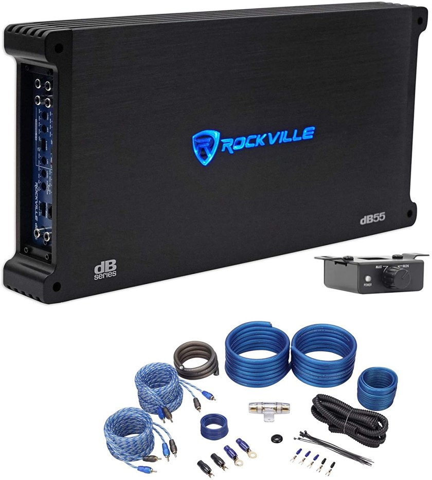 Rockville dB55 5-Channel Amplifier