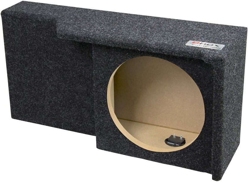 Bbox-A371-10CP Single 10-Inch Sealed Enclosure Best 10 Inch Sealed Box for Subwoofer