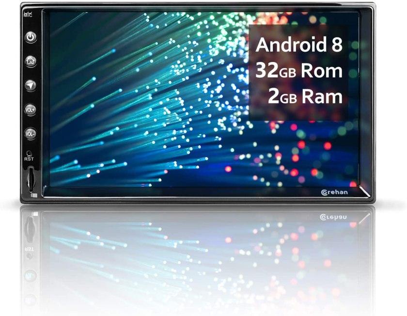 Corehan 7 inch 2GB Ram 32GB ROM Touch Screen in Dash Car Radio
