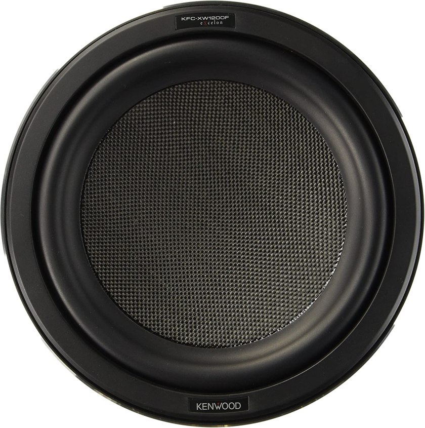 Best 12 Inch Subwoofers in the Market Kenwood KFC-XW1200F Subwoofer