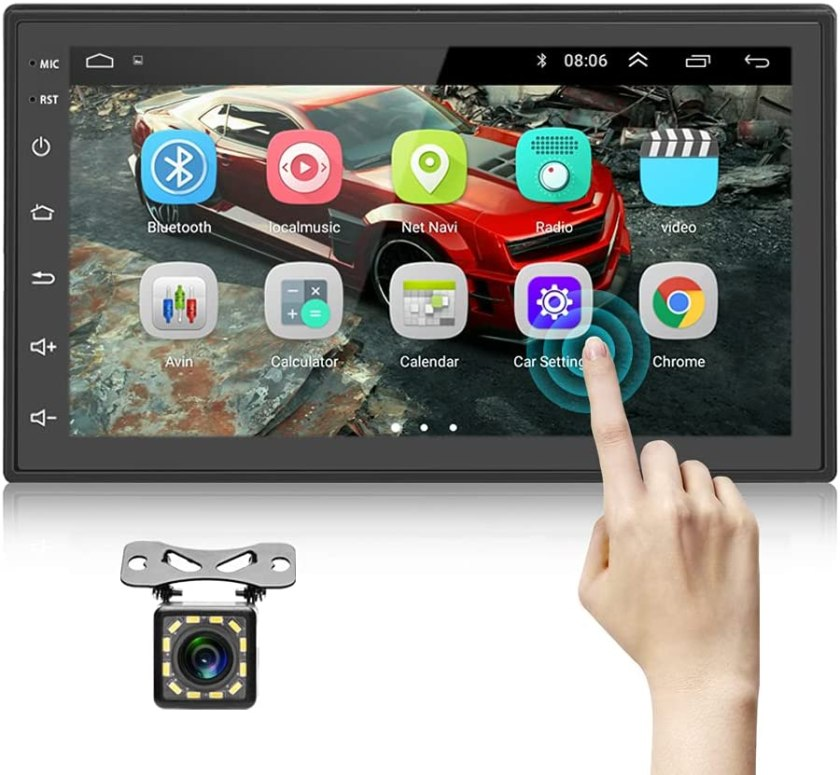 Podofo Double Din Android Car Stereo