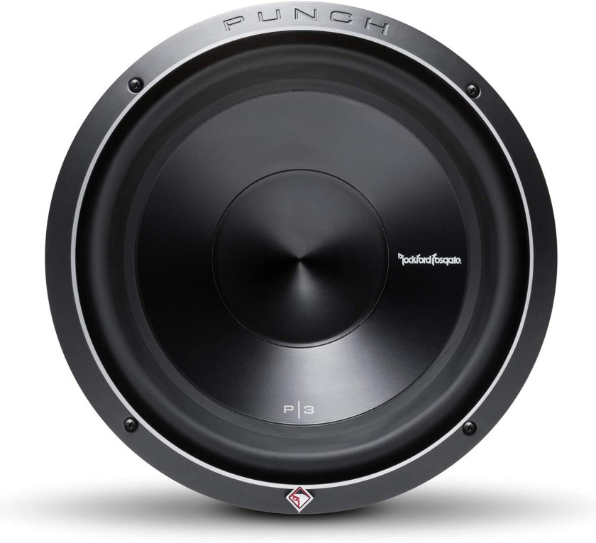 Best 12 Inch Subwoofers in the Market Rockford Fosgate P3D4 Subwoofer