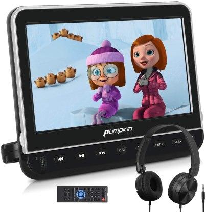 Best Portable DVD Player under $50, PUMPKIN 10.1-inch DVD Player
