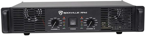 Best 1000 Watt Amp for the Money, Rockville-RPA5-Amplifier