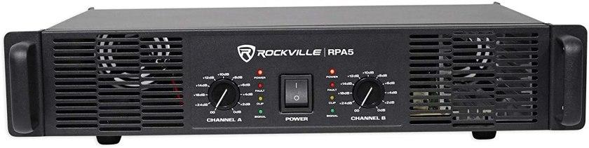 Best 1000 Watt Amp for the Money, Rockville RPA5 Amplifier