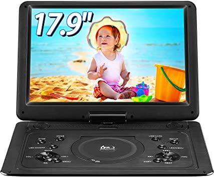 DR. J 17.9 Portable DVD Player