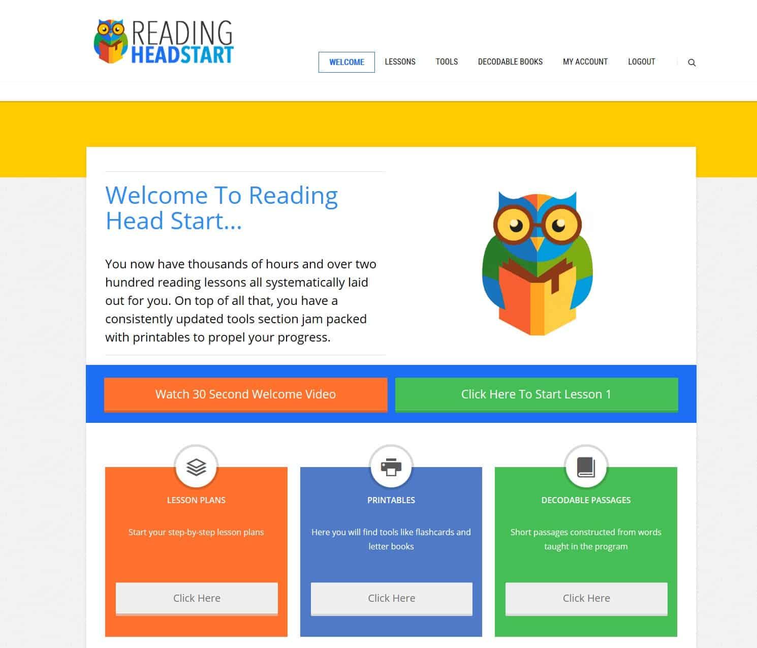 Reading Head Start Review A Reading Program For Kids