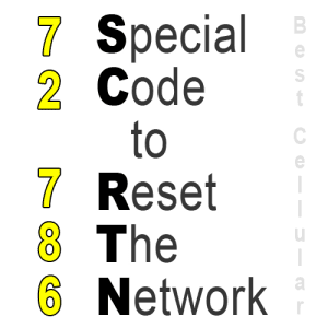 How to Network Reset a Sprint phone