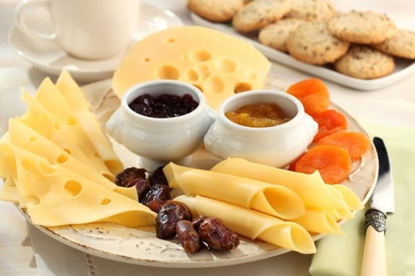 Сheese plate with dried fruits #cheeseplate #cheeseslicer