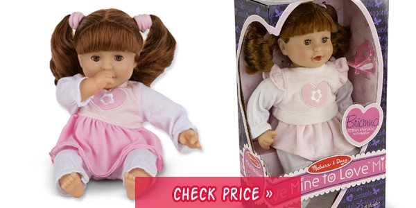 lifelike baby dolls with hair and outfit