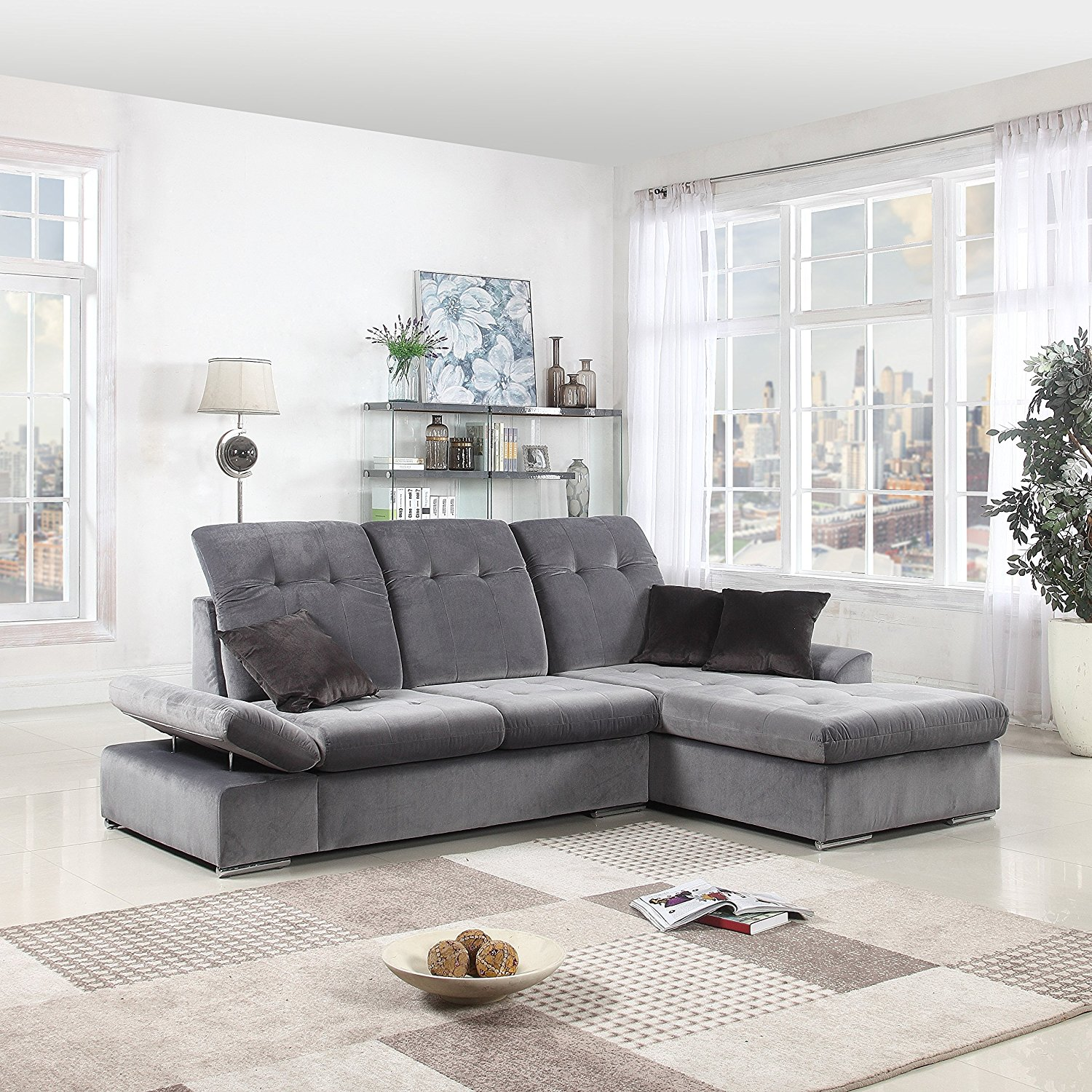 best sectional sofa reviews white background  under 1000 cheap