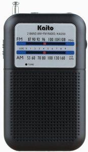 Kaito KA200 Pocket Radio
