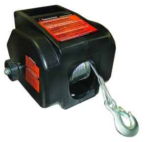 Keeper KWSL2000RM 12V DC Rapid Mount Portable Winch with Handheld Remote