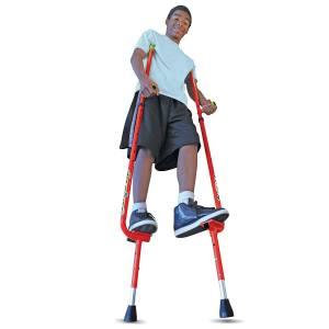 The Original Walkaroo Xtreme All-Steel Balance Stilts by Air Kicks