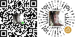 Wechat contribute code and tip code of Barrie