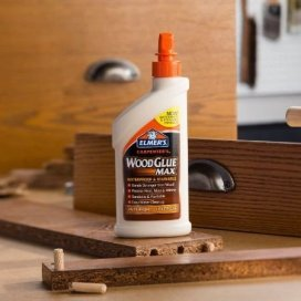 Elmer's Carpenter's Wood Glue Max for Interior/Exterior Use - best wood glue for woodworking