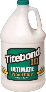 Titebond III 1416 Ultimate Wood Glue - The Strongest Wood Glue for Furniture Repair or Carpentry