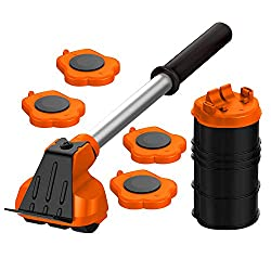 Mega Maxx Furniture Lifter with 4 Sliders - Best Heavy Furniture Lifting and Moving Tool Set