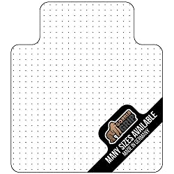 Gorilla Grip Premium Polycarbonate Chair Mat for Carpeted Floor - Heavy Duty & Transparent