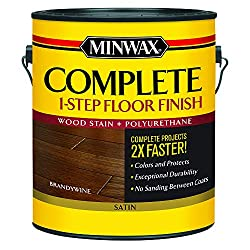 Minwax 672070000 Complete 1 Step Floor Finish - Best Stain & Polyurethane in 1 Step