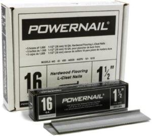 """Powernail PowerCleats 16ga 1-1/2"""" L-Cleat Flooring Nail"""