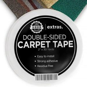 1. Good StuffHeavy-duty Rug Gripper Tape For Carpets and Hardwood Floors
