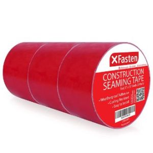 XFasten Construction Seaming Tape, Vapor Barrier Underlayment Tape Roll