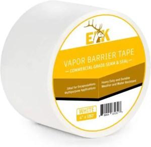 ELK Vapor Barrier Moisture Barrier Seam and Seal Tape for Multipurpose Use