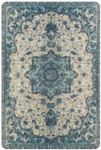 Lahome Collection Traditional Vintage Floral Area Rug Throw Rugs for Door Mat Entryway
