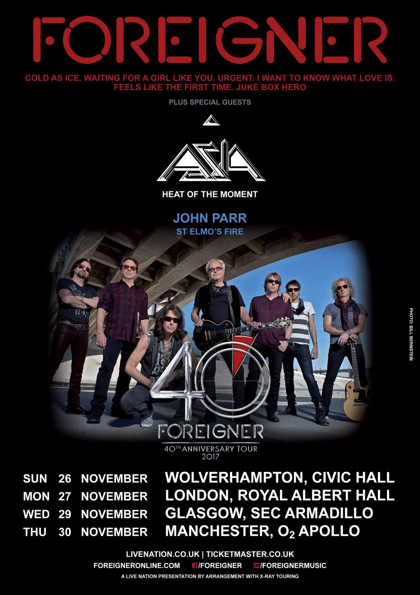 Foreigner Sets UK Dates Asia to Honor John Wetton  Best