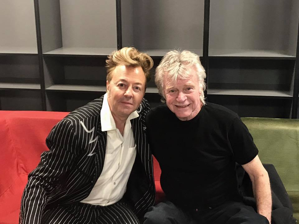 Dave Edmunds Retiring Says Pal Brian Setzer Best