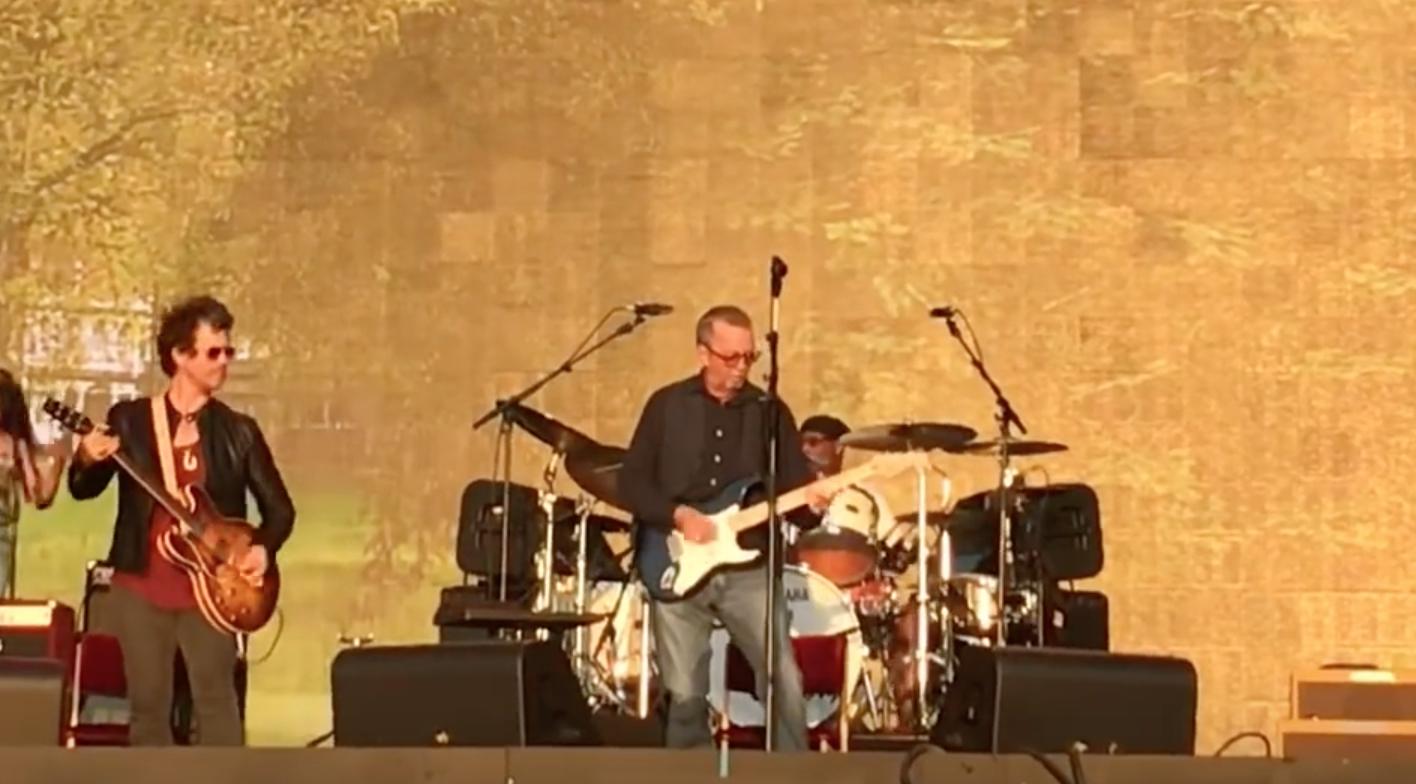 Clapton Winwood Santana at Hyde Park 2018  Best Classic Bands