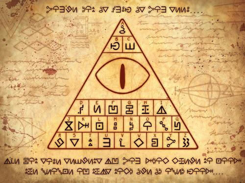 Gravity Falls Wallpaper Trust No One Gravity Falls Codes Crack The Codes