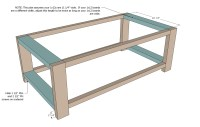 Coffee Table DIY Plans | Coffee Table Design Ideas