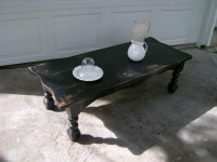 Distressed Coffee Table Bring to the Interior of a Piece ...