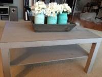 Distressed Coffee Table DIY | Coffee Table Design Ideas