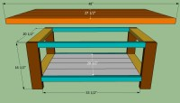 Easy Coffee Table Plans