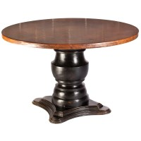 Hammered Copper Top Coffee Table