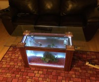 How To Build A Coffee Table Aquarium | Coffee Table Design ...