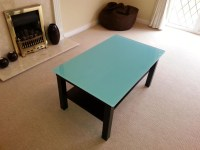 Painted Glass Coffee Table | Coffee Table Design Ideas